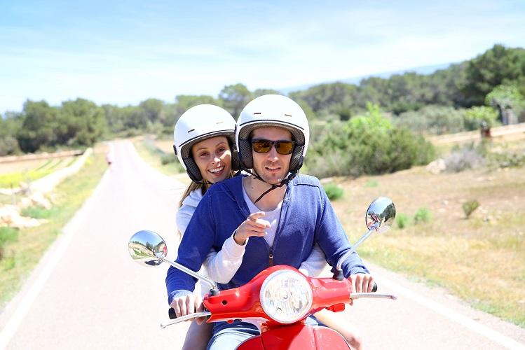 Formentera en moto